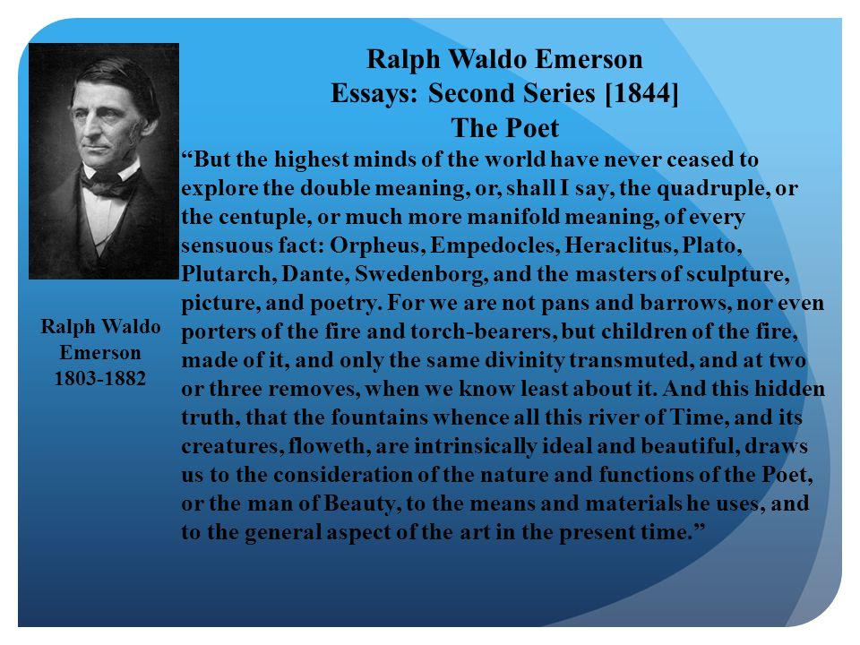 Essays: Second Series [1844]